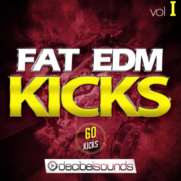 Decibel Sounds Fat EDM Kicks Vol.1 ACID WAV-DISCOVER